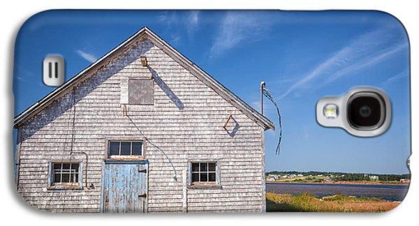 Fishing Village Galaxy S4 Cases - Old building in North Rustico Galaxy S4 Case by Elena Elisseeva
