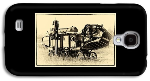 Machinery Galaxy S4 Cases - Old Case Thresher Galaxy S4 Case by Bill Kesler