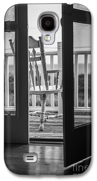 Screen Doors Galaxy S4 Cases - Old Chair at the Beach House Galaxy S4 Case by Diane Diederich