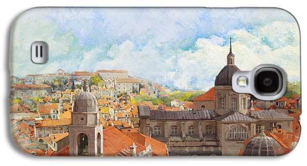 Fantasy Galaxy S4 Cases - Old City of Dubrovnik Galaxy S4 Case by Catf