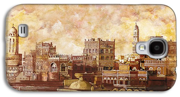 Fantasy Galaxy S4 Cases - Old city of sanaa Galaxy S4 Case by Catf
