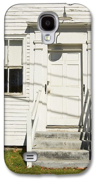 Old Maine Houses Galaxy S4 Cases - Old Door And Steps Galaxy S4 Case by Keith Webber Jr