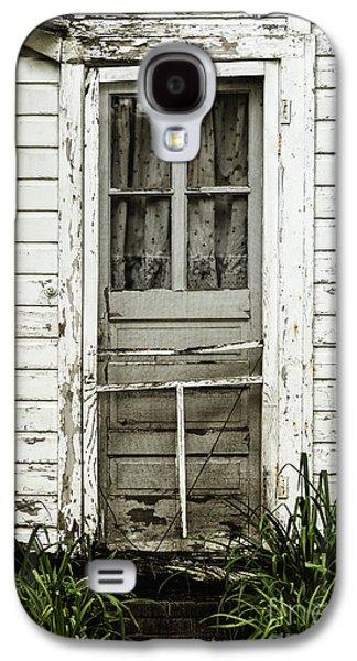 Screen Doors Galaxy S4 Cases - Old Door Galaxy S4 Case by Margie Hurwich