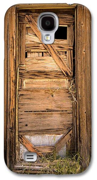Mining Photos Galaxy S4 Cases - Old Door Galaxy S4 Case by  Onyonet  Photo Studios