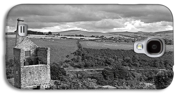 Betsy Galaxy S4 Cases - Old Engine House at the Wheal Betsy Mine Dartmoor Galaxy S4 Case by Gill Billington