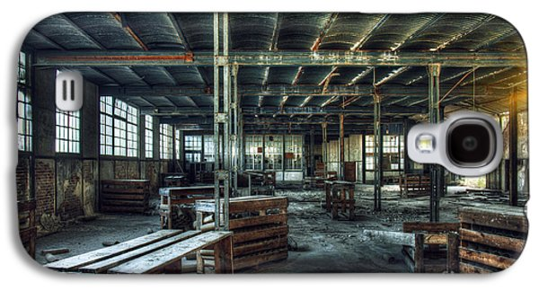 Creepy Galaxy S4 Cases - Old Factory Ruin Galaxy S4 Case by Carlos Caetano