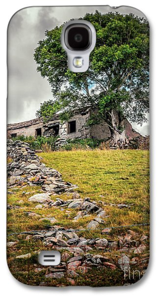 Dilapidated Digital Galaxy S4 Cases - Old Farm House Galaxy S4 Case by Adrian Evans