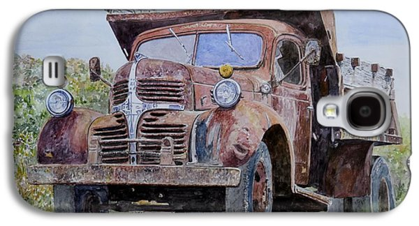 Old Farm Truck Galaxy S4 Case by Anthony Butera