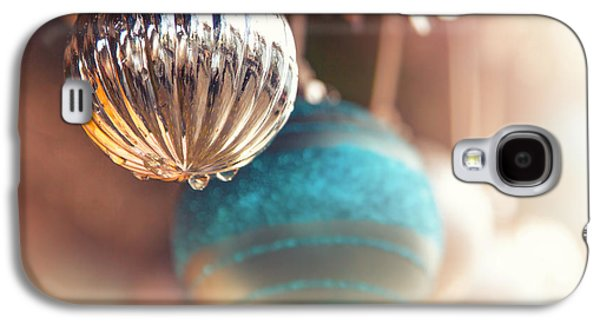 Concept Photographs Galaxy S4 Cases - Old-fashioned Christmas decorations Galaxy S4 Case by Jane Rix