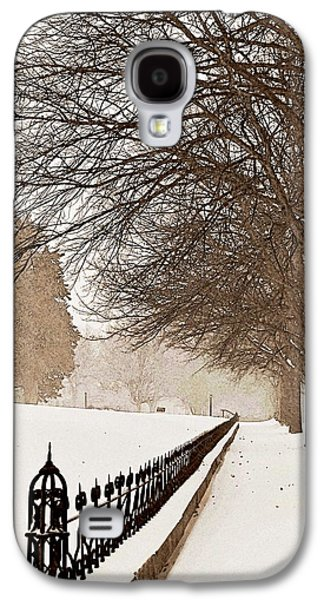 Winter Storm Photographs Galaxy S4 Cases - Old Fashioned Winter Galaxy S4 Case by Chris Berry