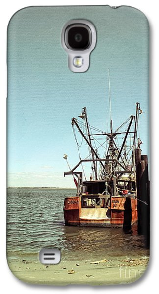 Original Art Photographs Galaxy S4 Cases - Old Fishing Boat Galaxy S4 Case by Colleen Kammerer
