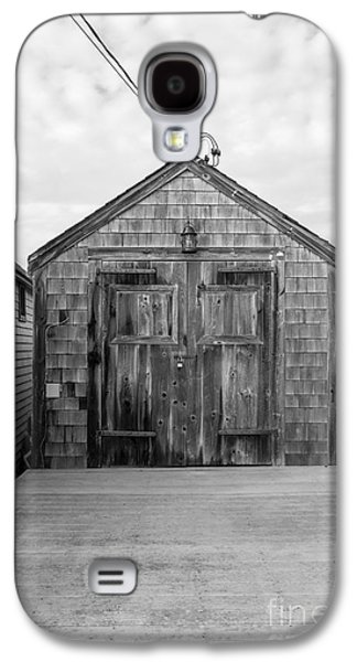Old Fishing Shack Little Boars Head Rye Nh Galaxy S4 Case by Edward Fielding
