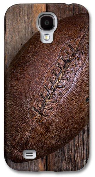 Stitch Galaxy S4 Cases - Old Football Galaxy S4 Case by Edward Fielding