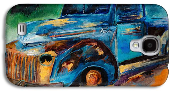 Old Ford In The Back Of The Field Galaxy S4 Case by Elise Palmigiani