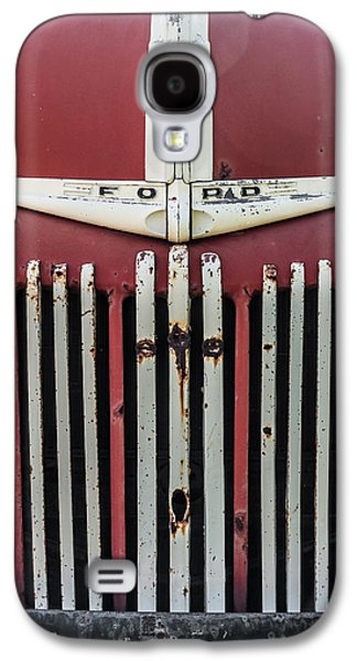 Old Trucks Photographs Galaxy S4 Cases - Old Ford Truck Galaxy S4 Case by Dale Kincaid