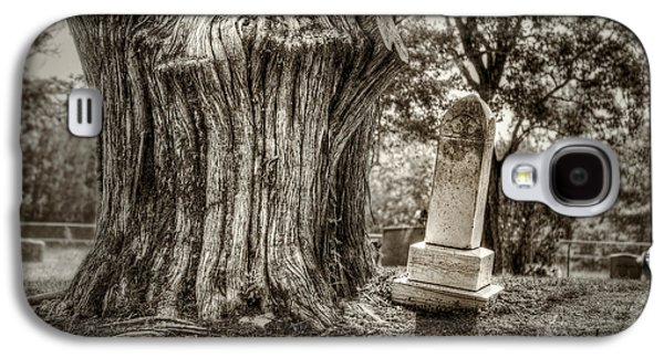Headstones Galaxy S4 Cases - Old Friends Galaxy S4 Case by Scott Norris