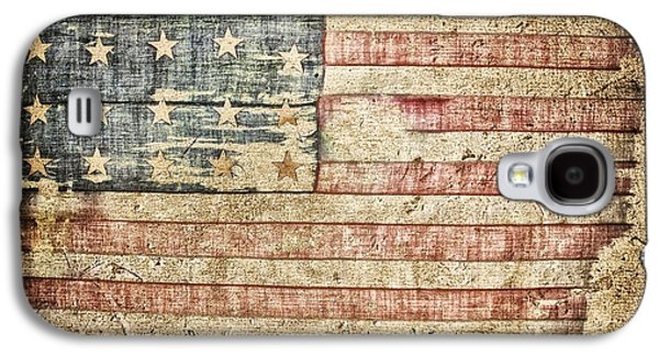 Fourth Of July Mixed Media Galaxy S4 Cases - Old Glory 20 Strars Galaxy S4 Case by Todd and candice Dailey