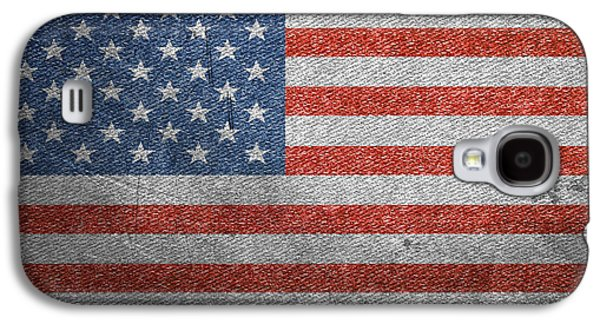 Americans Tapestries - Textiles Galaxy S4 Cases - Old Glory In Denim Galaxy S4 Case by Paul Reeves