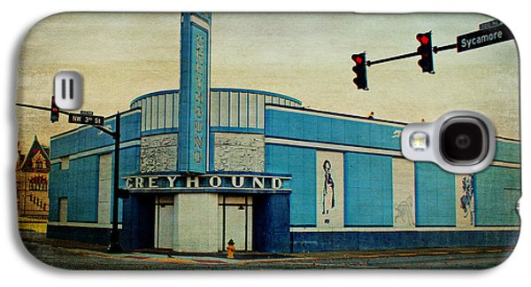 Evansville Galaxy S4 Cases - Old Greyhound Bus Station Galaxy S4 Case by Sandy Keeton