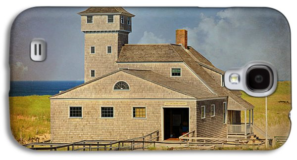 Chatham Galaxy S4 Cases - Old Harbor Lifesaving Station on Cape Cod Galaxy S4 Case by Stephen Stookey