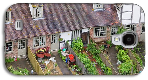 Old Houses And Back Gardens Galaxy S4 Case by Ashley Cooper