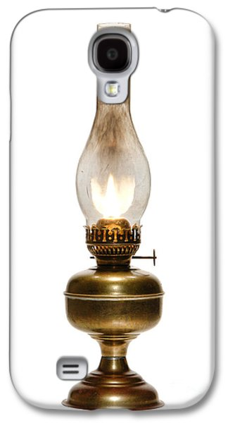 Kerosene Galaxy S4 Cases - Old Hurricane Lamp Galaxy S4 Case by Olivier Le Queinec