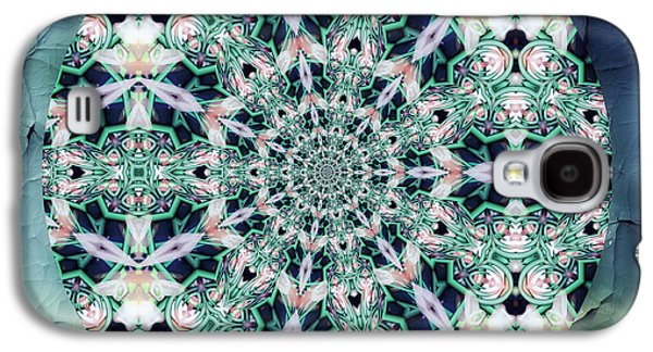 Mother Gift Galaxy S4 Cases - Old Lace Mandala Galaxy S4 Case by Georgiana Romanovna