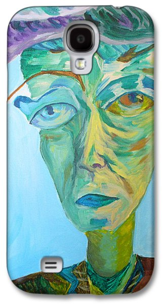 Het Paintings Galaxy S4 Cases - Old man Galaxy S4 Case by Natalia Lebed