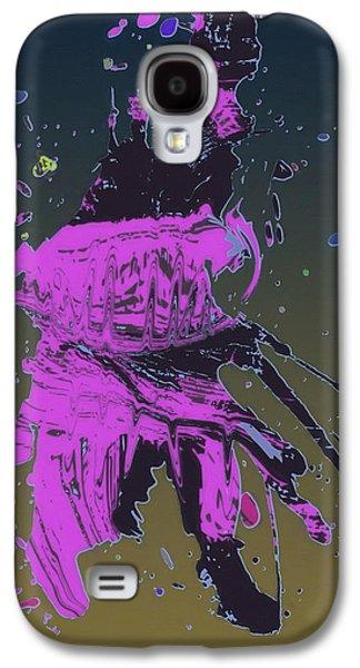 Purple Robe Galaxy S4 Cases - Old Man of the Desert Galaxy S4 Case by John Haldane