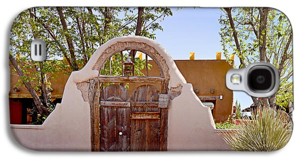 Entrance Door Galaxy S4 Cases - Old Mesilla - Las Cruces NM Galaxy S4 Case by Christine Till