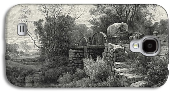 Old Mill Stream 1883 Galaxy S4 Case by Padre Art