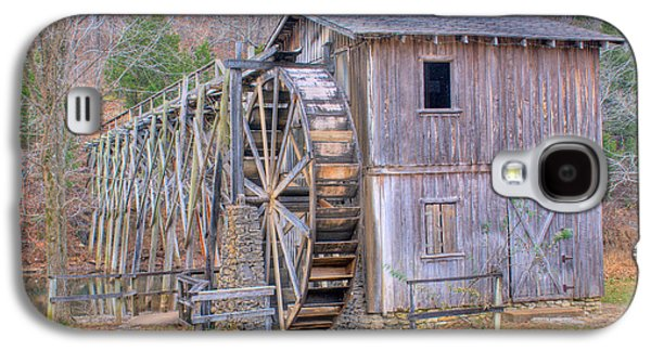 Old Mills Galaxy S4 Cases - Old Mill Water Wheel and Sluce Galaxy S4 Case by Douglas Barnett