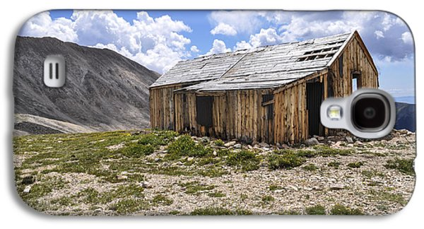 Old Western Photos Galaxy S4 Cases - Old Mining House Galaxy S4 Case by Aaron Spong
