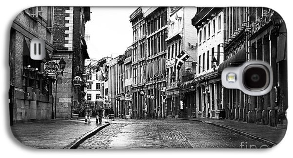 Old Montreal Galaxy S4 Cases - Old Montreal Streets Galaxy S4 Case by John Rizzuto