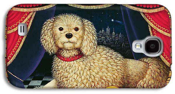 Nursery Rhyme Galaxy S4 Cases - Old Mother Hubbards Wonderful Dog, 1998 Oil & Tempera On Panel Galaxy S4 Case by Frances Broomfield