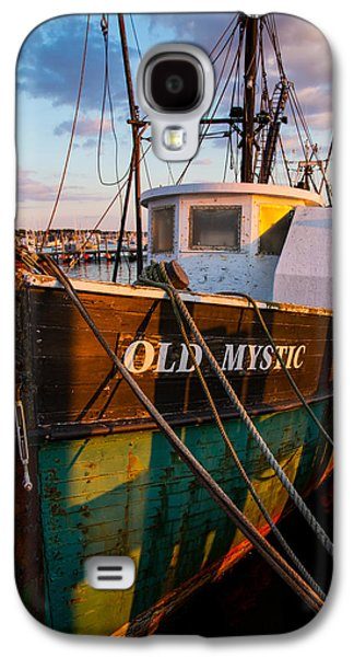 Boats At Dock Galaxy S4 Cases - Old Mystic Galaxy S4 Case by Karol  Livote