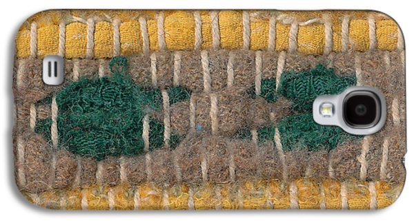 Colorful Abstract Tapestries - Textiles Galaxy S4 Cases - Old rag rug closeup. Galaxy S4 Case by Kerstin Ivarsson