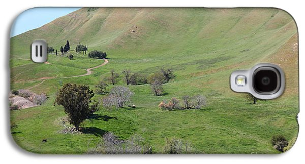 Wing Chee Tong Galaxy S4 Cases - Old Rose Hill Cemetery Atop The Rolling Hills Landscape of The Black Diamond Mines California 5D2231 Galaxy S4 Case by Wingsdomain Art and Photography