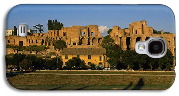 Ancient Galaxy S4 Cases - Old Ruins Of A Building, Roman Forum Galaxy S4 Case by Panoramic Images