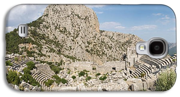 Civilization Galaxy S4 Cases - Old Ruins Of An Amphitheater Galaxy S4 Case by Panoramic Images