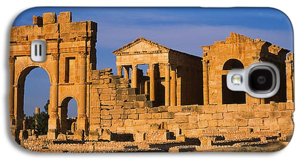 Ancient Civilization Galaxy S4 Cases - Old Ruins Of Buildings In A City Galaxy S4 Case by Panoramic Images