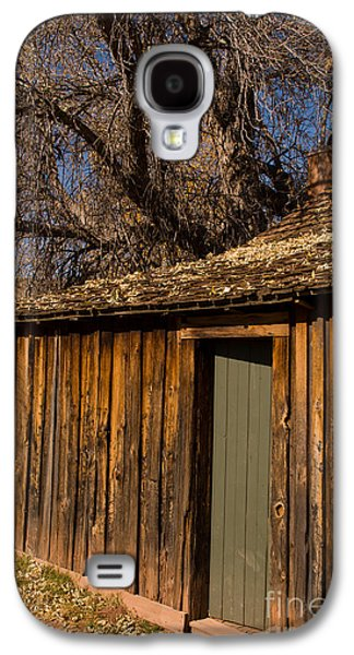 Bob Ross Photographs Galaxy S4 Cases - Old Rustic Cabin Grafton Ghost Town Rockville Utah Galaxy S4 Case by Robert Ford