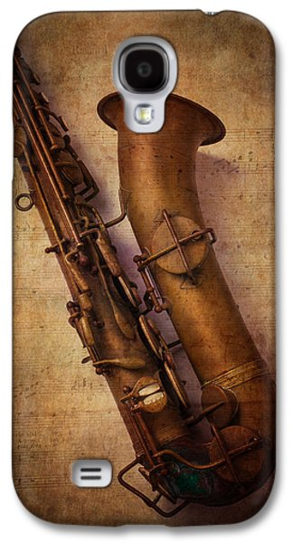 Old Sax Galaxy S4 Case by Garry Gay