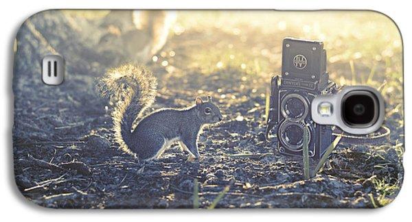 Animal Lover Digital Art Galaxy S4 Cases - Old School Galaxy S4 Case by Laura  Fasulo