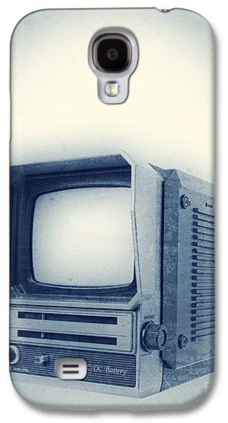Electronics Photographs Galaxy S4 Cases - Old School Television Galaxy S4 Case by Edward Fielding