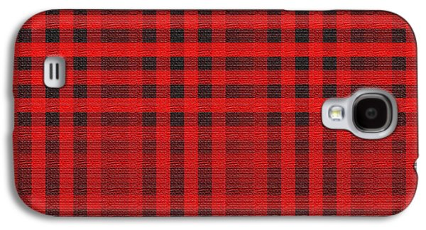 Modern Abstract Tapestries - Textiles Galaxy S4 Cases - Old Scottish cage Galaxy S4 Case by  Lali Kacharava
