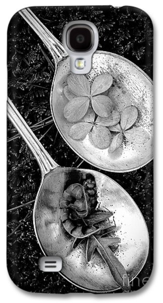 Play Photographs Galaxy S4 Cases - Old Silver Spoons Galaxy S4 Case by Edward Fielding
