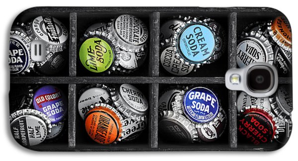 Landmarks Photographs Galaxy S4 Cases - Old Soda bottle tops Galaxy S4 Case by Tim Gainey