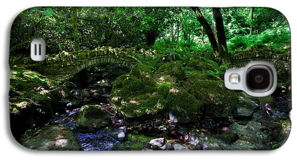 Reconstruction Galaxy S4 Cases - Old Stone Bridges Over The Stream Galaxy S4 Case by Panoramic Images