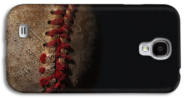 Old Pitcher Galaxy S4 Cases - Old Time Baseball Galaxy S4 Case by Karol  Livote